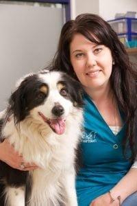 dierenarts-assistente Charlene